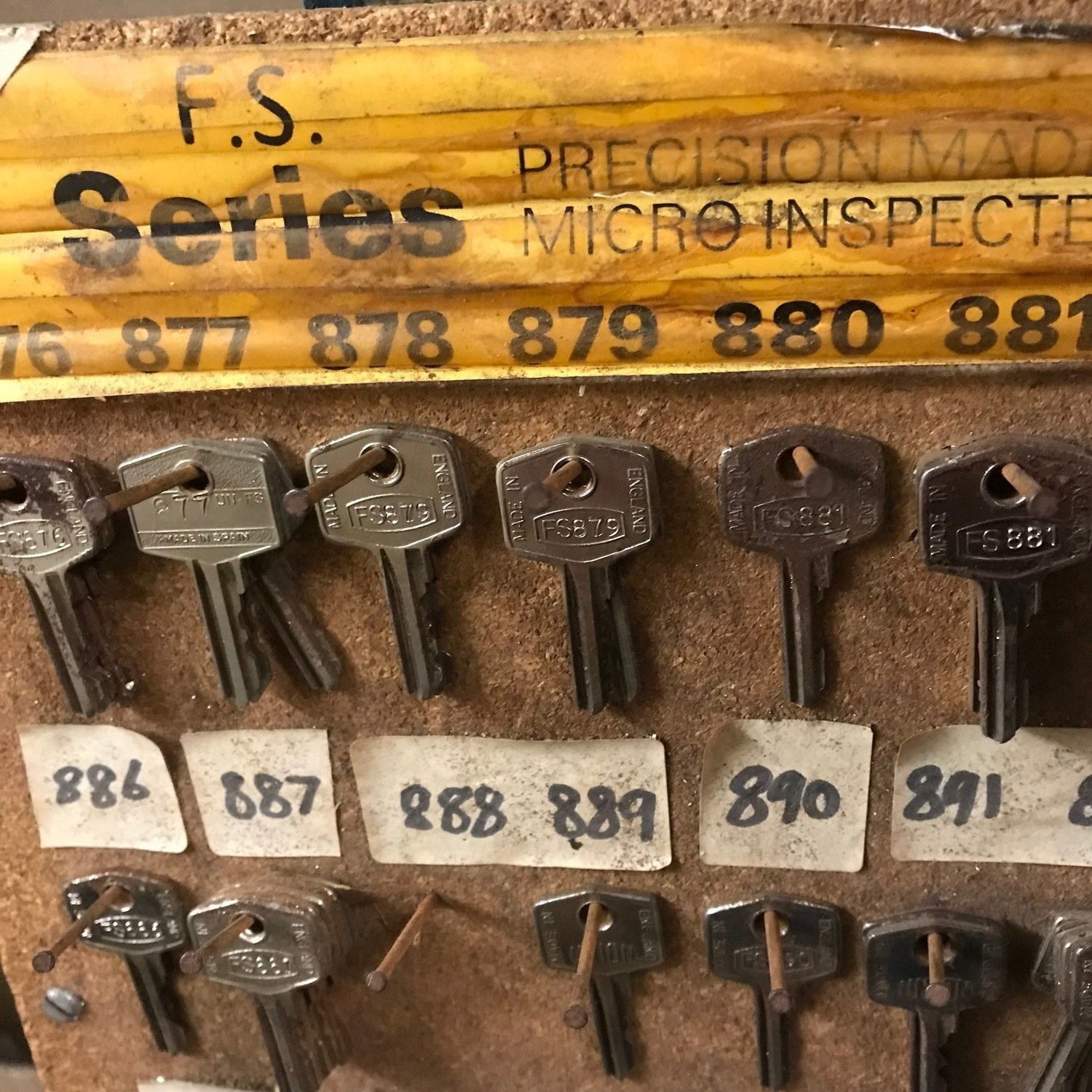 FS Series Keys