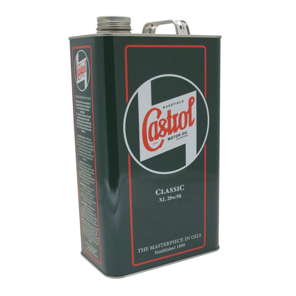 Castrol Classic Engine Oil - XL20W50 1925A
