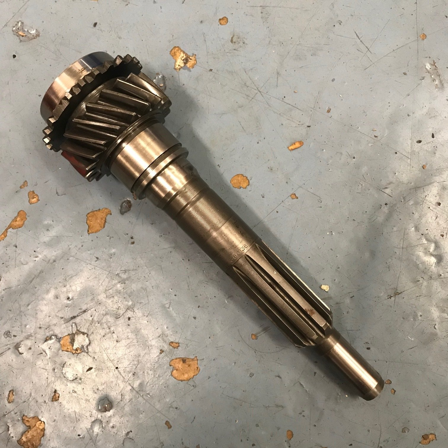 Volvo M40 1st motion shaft 19 tooth (used) 380136 TRV203B