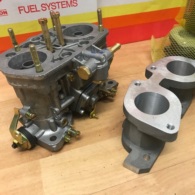 Jaguar 5.3 V12 Weber IDF carburettor and manifold kit