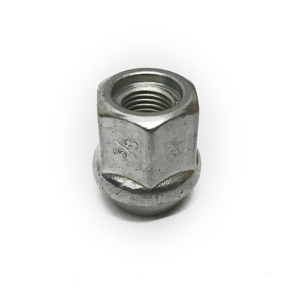 "3/8"" UNF competition open bulge wheel nut AXA100"