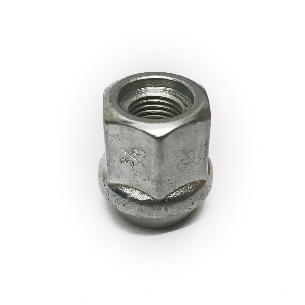 "3/8"" UNF competition open bulge wheel nut"