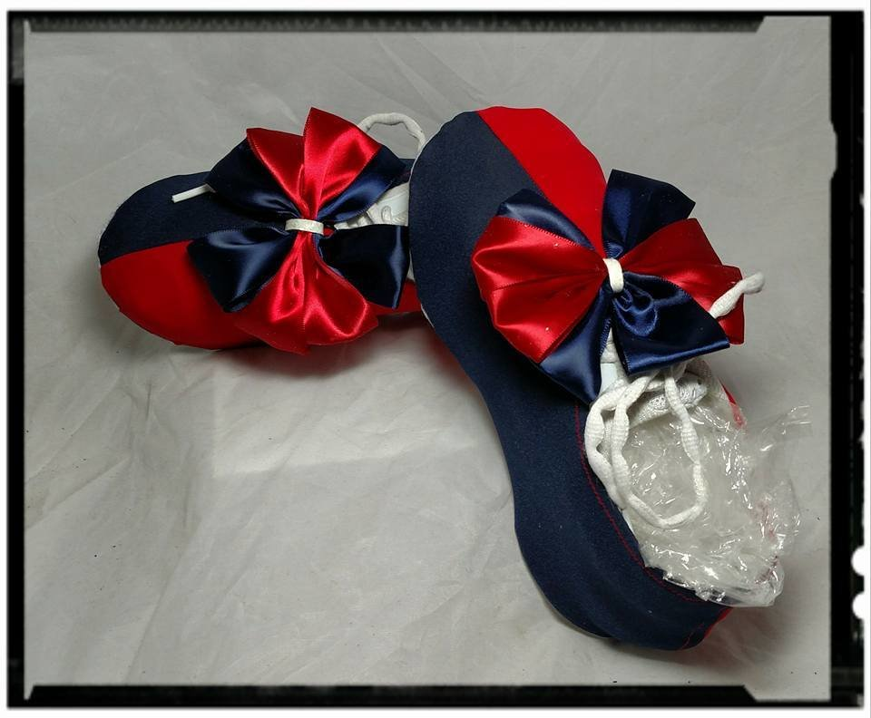 Navy & Red Two Tone