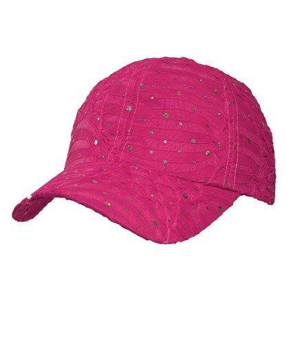 Glitter Cap - Hot Pink