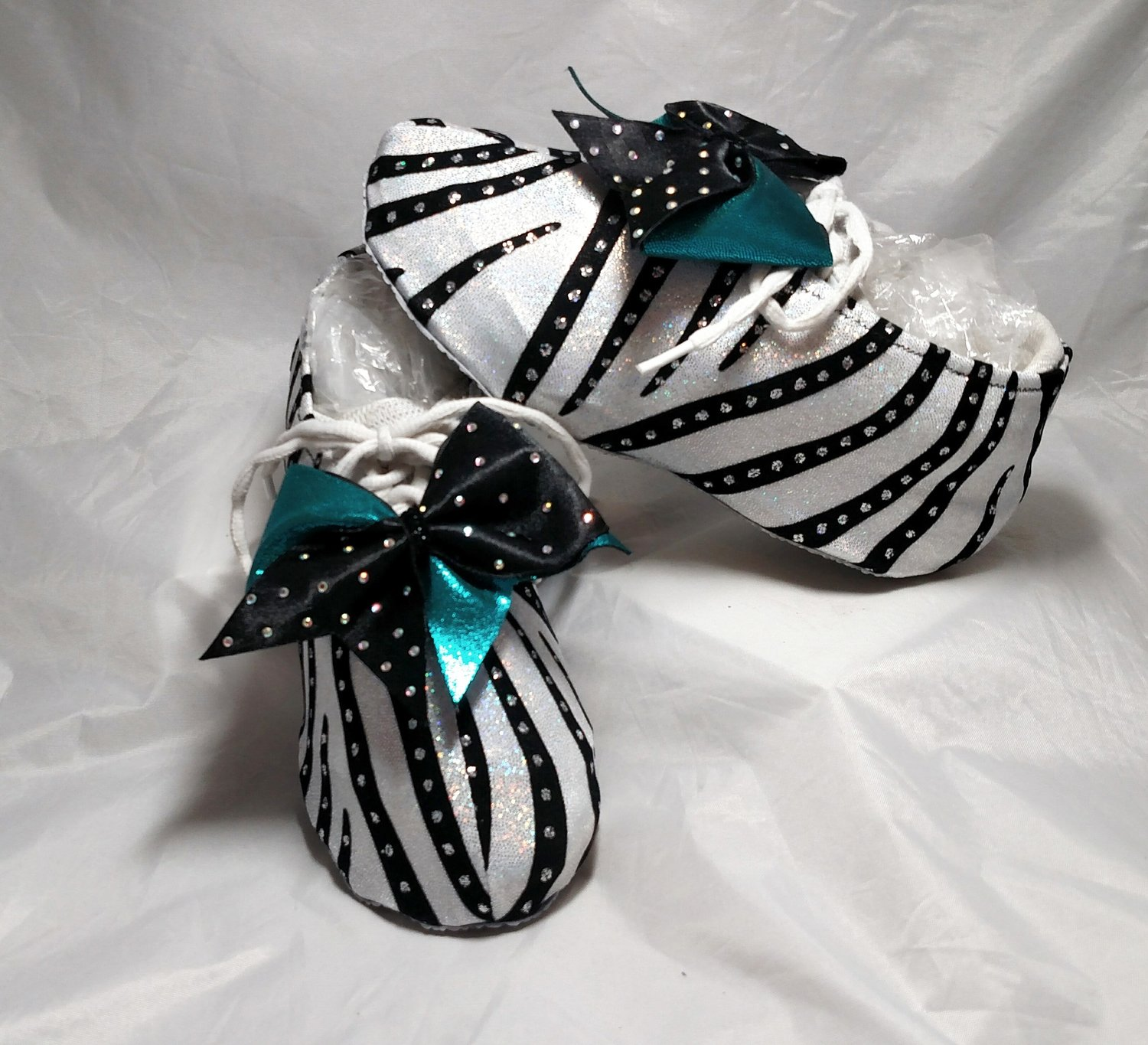 Aerial Flip Cheer Shoe Covers