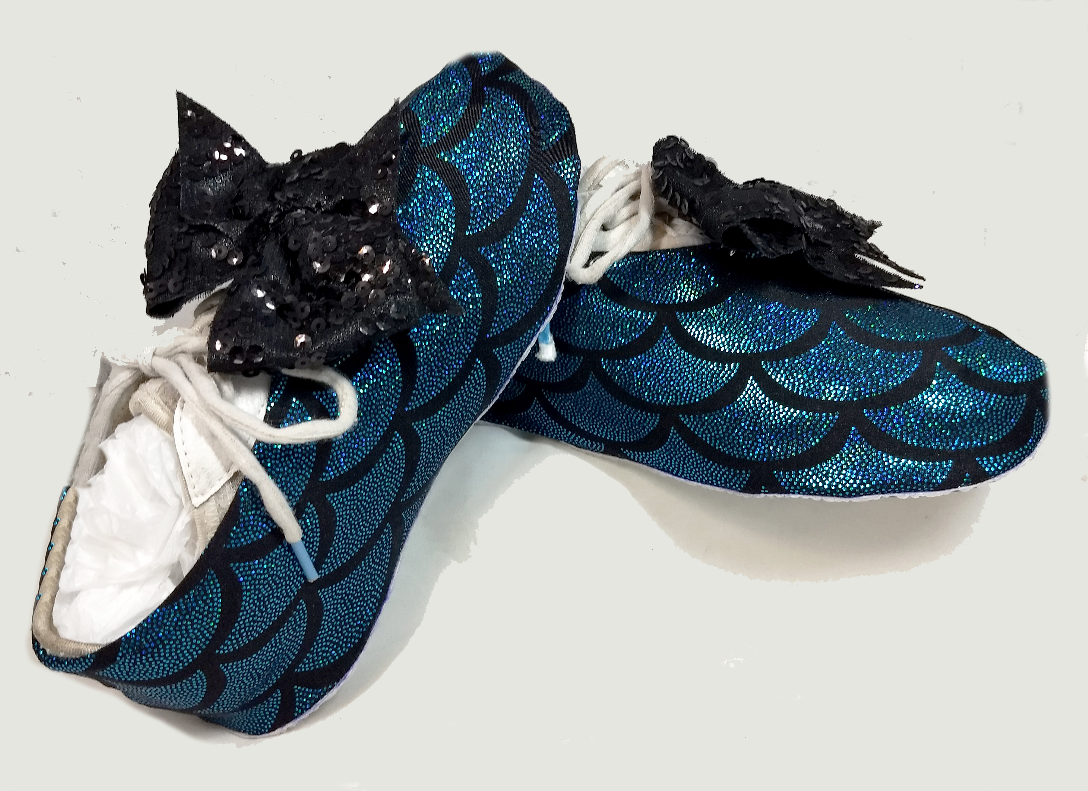 Cheerful Mermaid Cheer Shoe Covers SW-MER