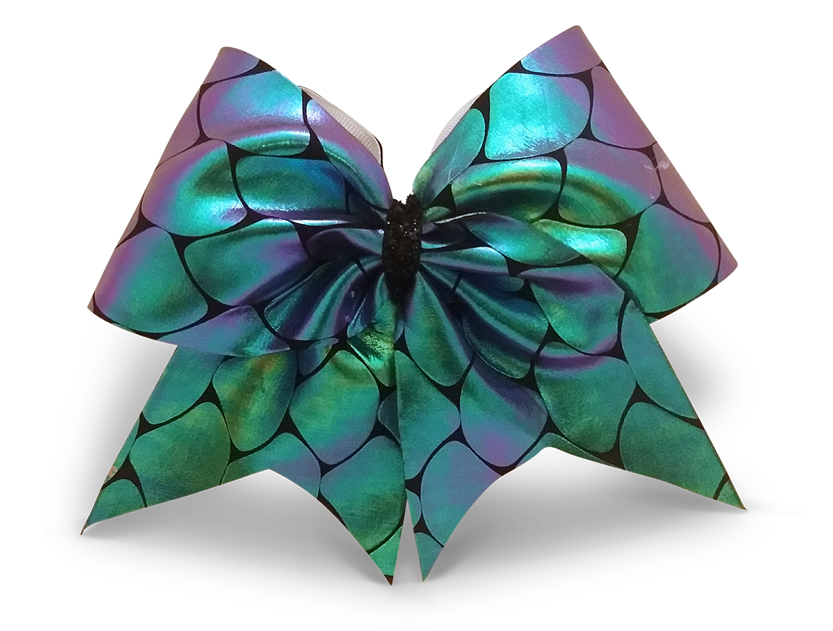 Iridescent Cheer Bow