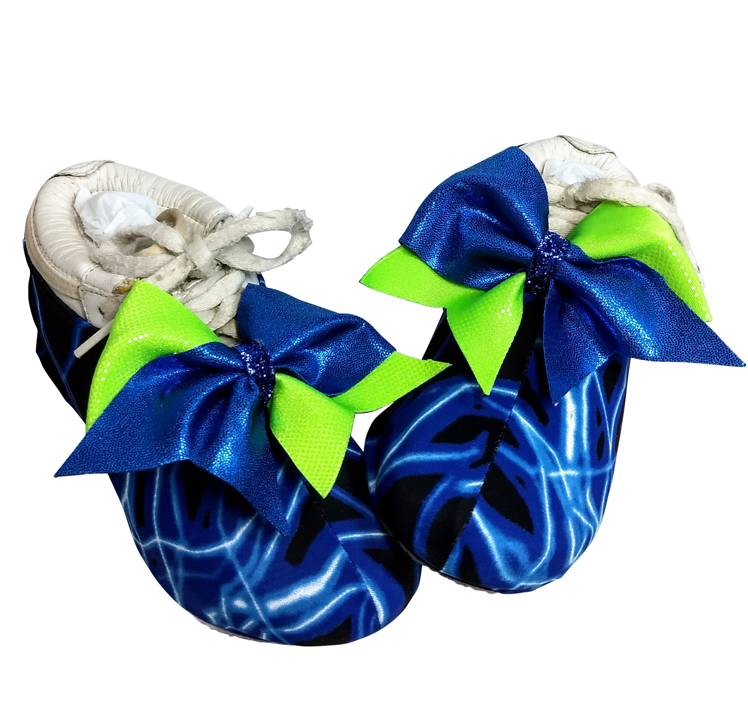 Lightning Flash Cheer Shoe Covers SW-LFS