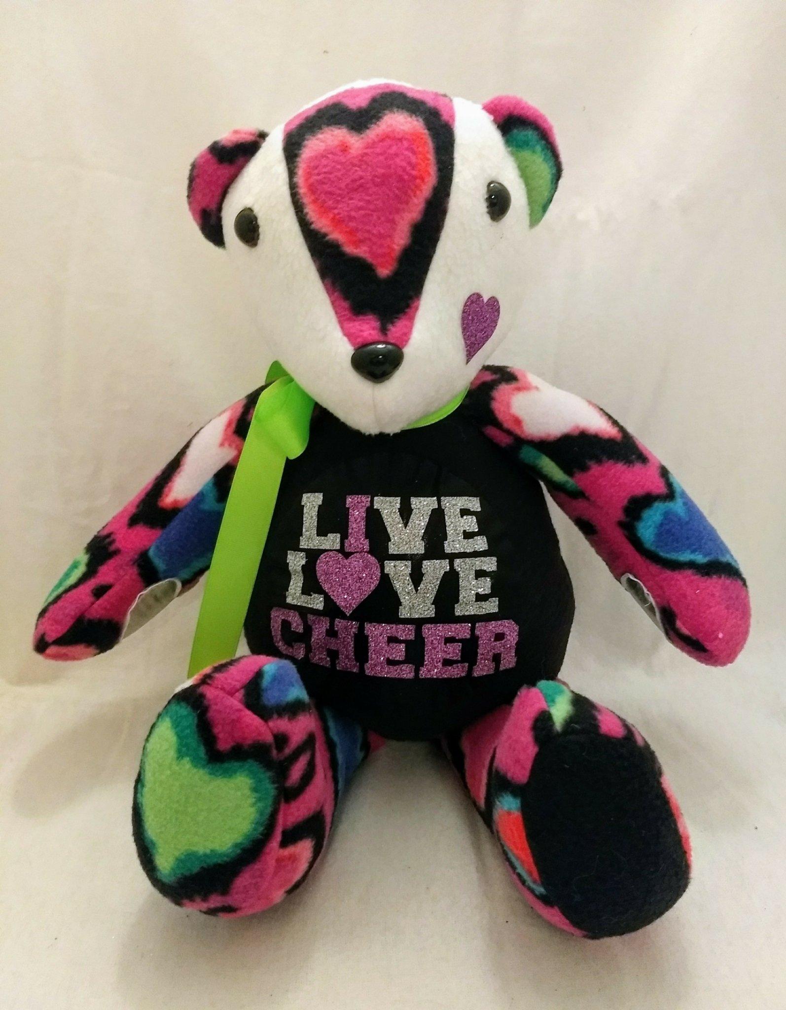 I Love Cheer Bear ASB-LLC