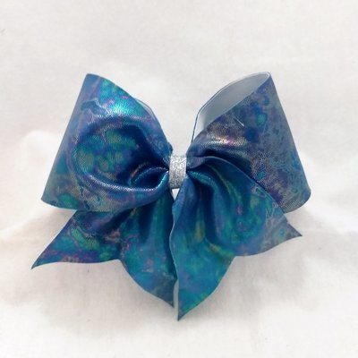 Tie-Dye Mystique Cheer Bow