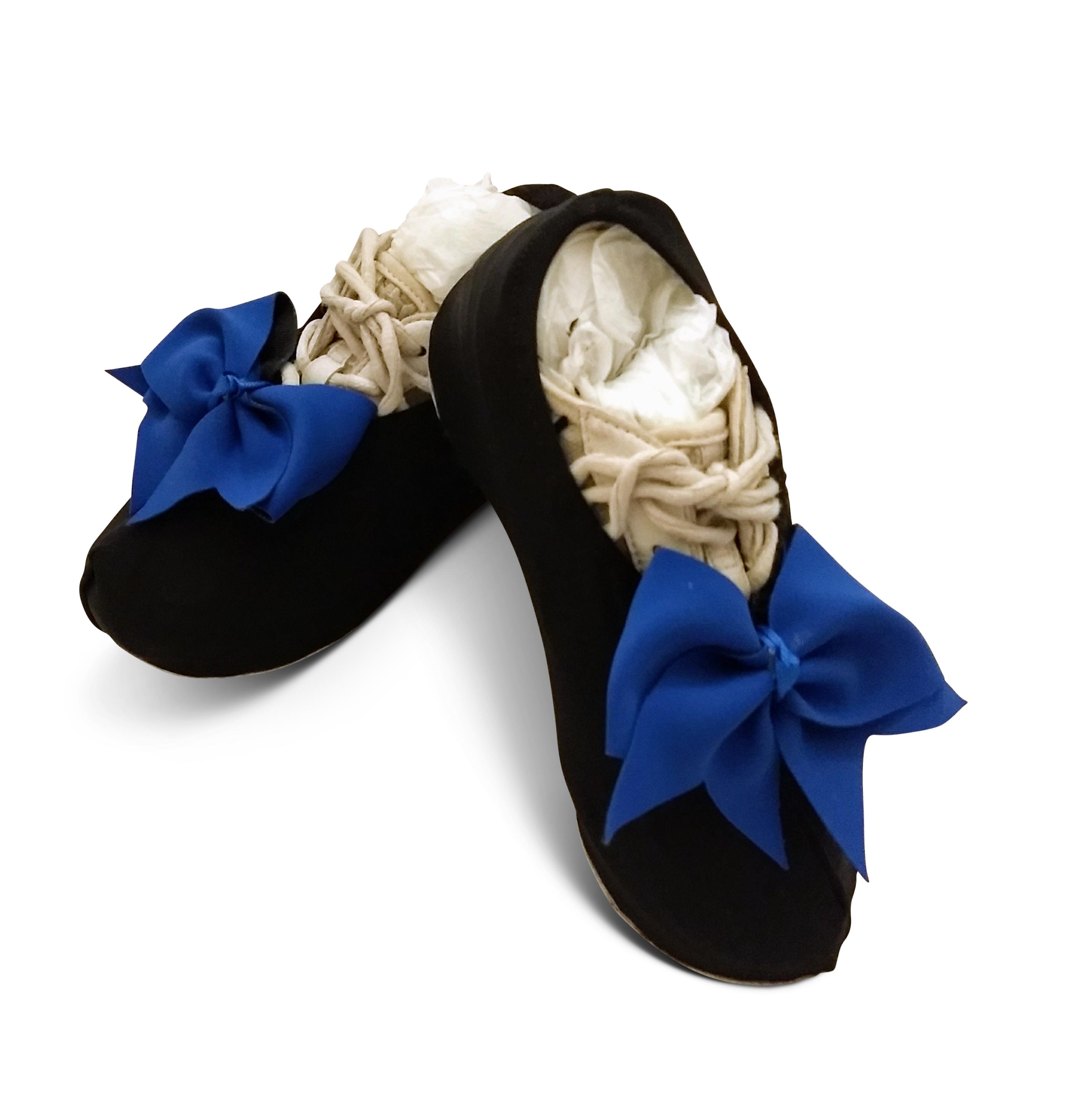 Basic Black Shouter Wear Cheer Shoe Covers SW-BLK