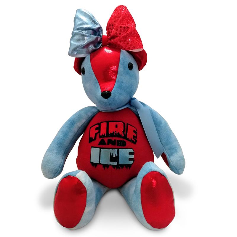 Fire & Ice All Star Cheer Spirit Bear TB-FIB