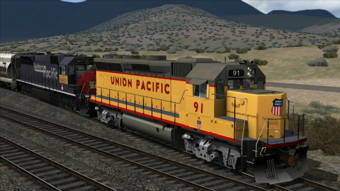 EMD GP40X Union Pacific locomotive Add-On