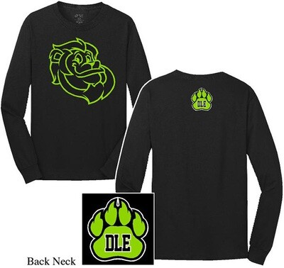 Long sleeve Black Leon shirt