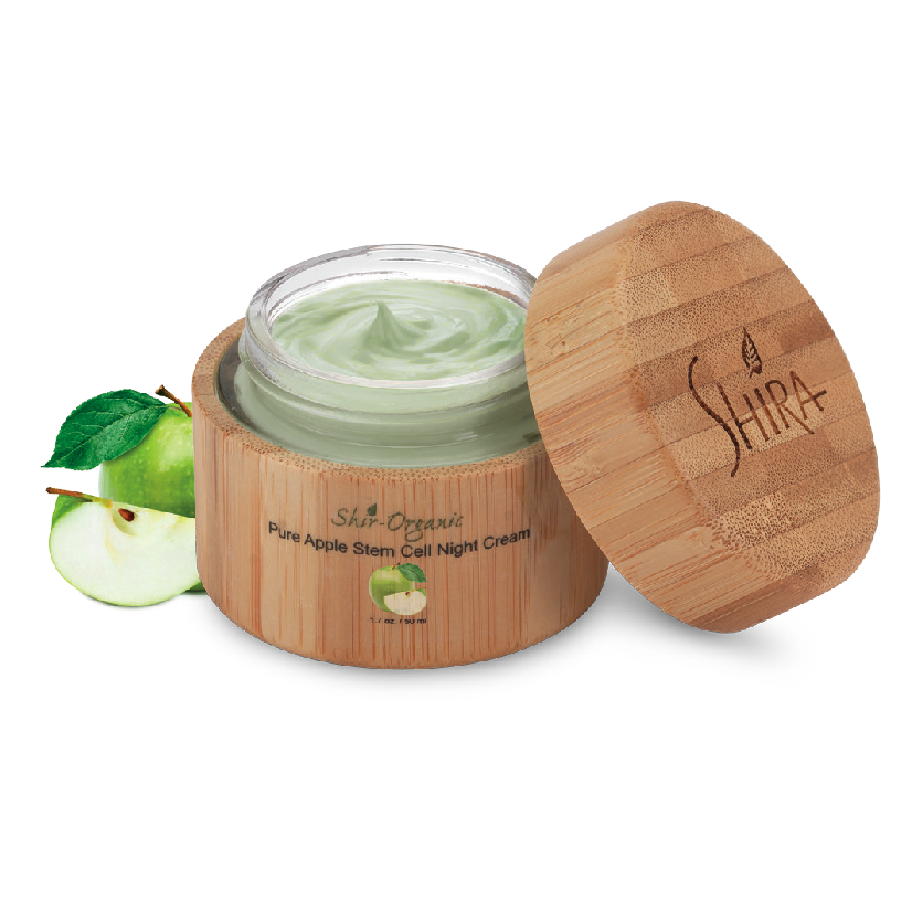 PURE APPLE STEM CELL NIGHT CREAM 50 ML.