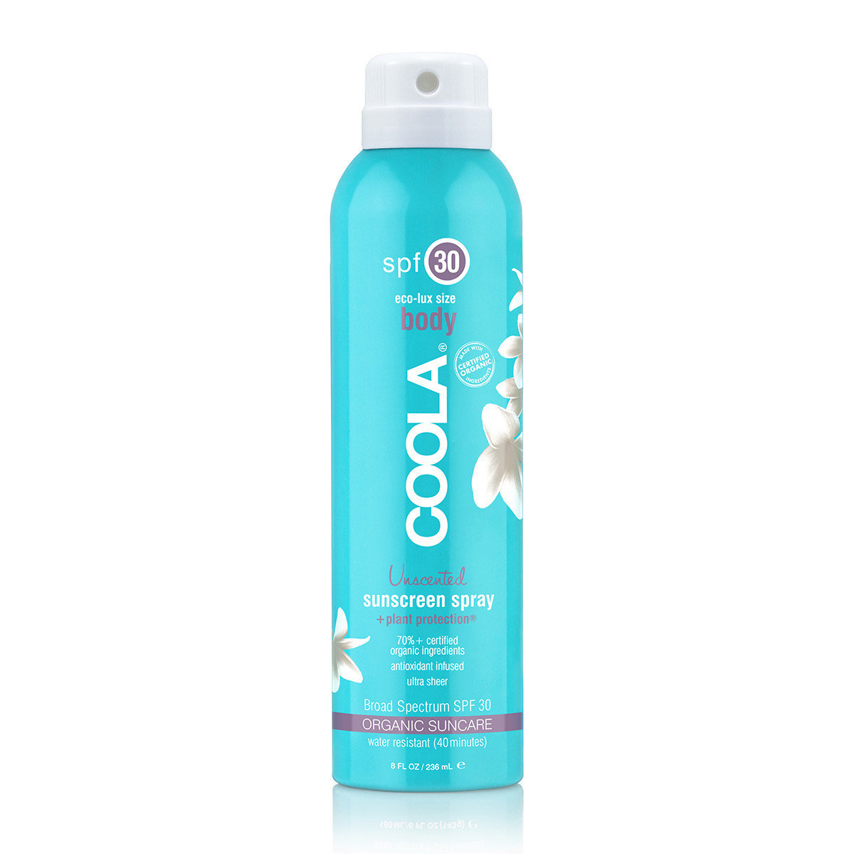 ECO-LUX 8OZ BODY SPF 30 UNSCENTED SUNSCREEN SPRAY
