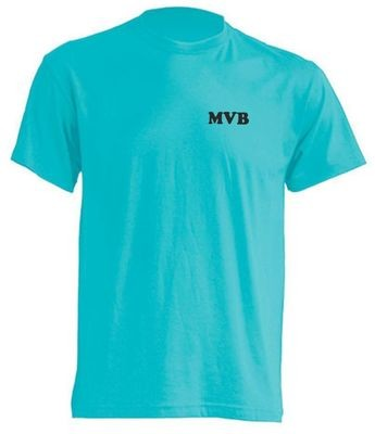 T-Shirt türkis Kinder Baumwolle Motorsportjugend Berlin