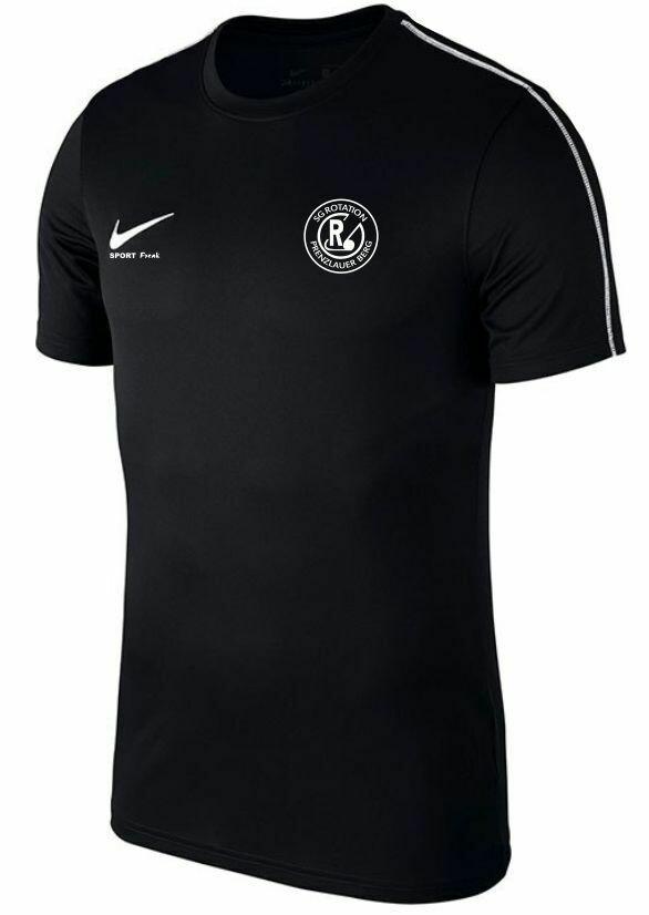 Nike Park 18 Trainingsshirt schwarz Erwachsene SG Rotation Prenzlauer Berg