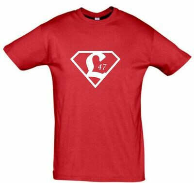 Baumwollshirt Superman Kinder SV Lichtenberg 47 Fan