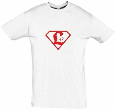Baumwollshirt Superman Erwachsene SV Lichtenberg 47 Fan