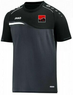 Jako Shirt anthraziz/schwarz Kinder Lichtenberger Hockey Club