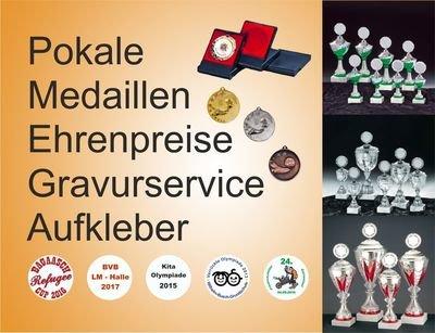 Medaille, Pokale, Ehrenpreise