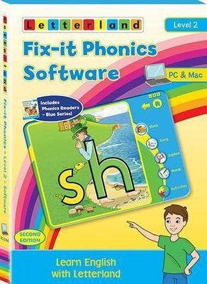 Компьютерная программа Fix-it Phonics Software Level 2 (6-8 лет) (2nd Edition)