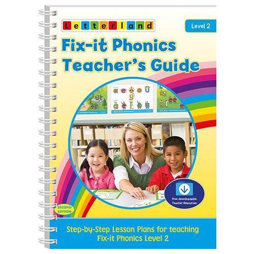 Fix-it Phonics - Level 2 - Teacher's Guide (2nd Edition)