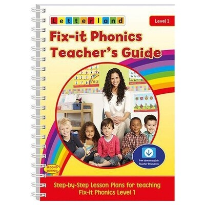Fix-it Phonics - Level 1 - Teacher's Guide (2nd Edition)