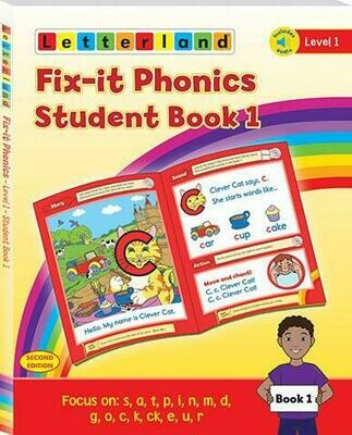 Fix-it Phonics - Level 1 - Student Book 1 & 2 (учебник)