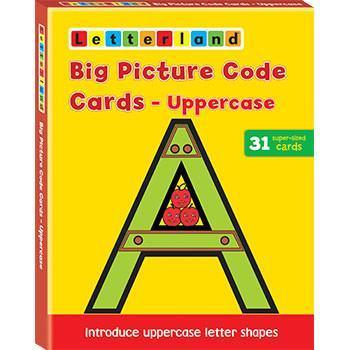 Big Picture Code Cards - Uppercase 9781862091986