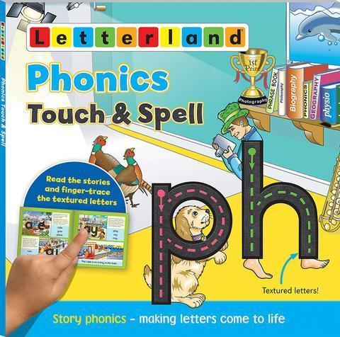 Phonics Touch & Spell - Мультисенсорная книжка буквосочетаний 9781782480907