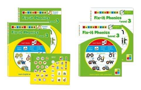 Fix-it Phonics Level 3 - Комплект ученика 3 9781862097322