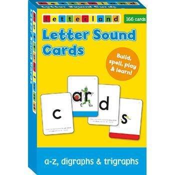 Letter Sound Cards 9781782480853