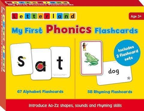 My First Phonics Flashcards 9781862099821