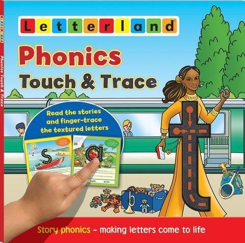Phonics Touch & Trace- Мультисенсорная книжка про буквы