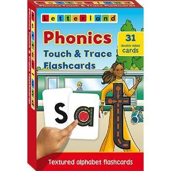 Phonics Touch & Trace Flashcards 9781862099777