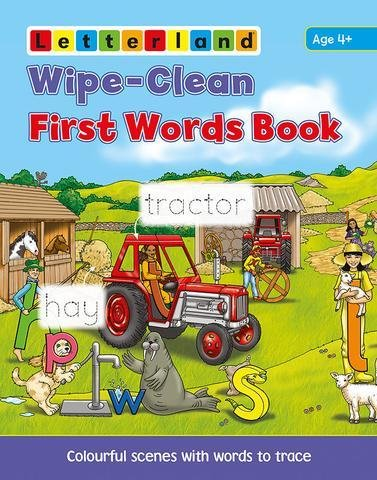 Wipe-Clean First Words Book 9781862099791