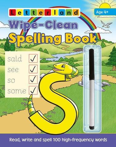 Wipe-Clean Spelling Book 9781782480921