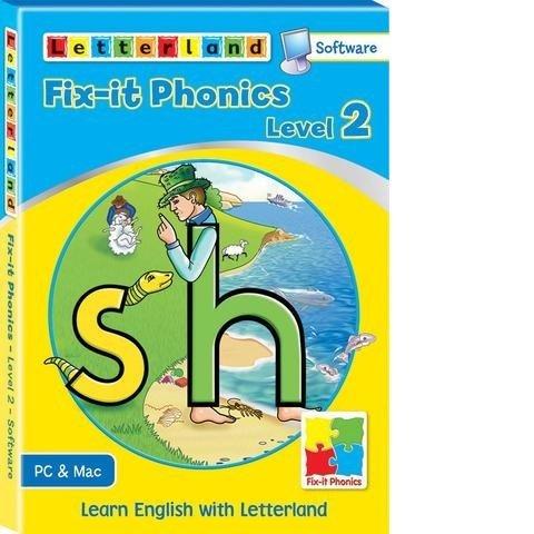 Компьютерная обучающая программа Fix-it Phonics - Уровень 2 (6-8 лет) 9781862098312