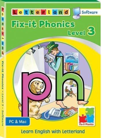 Компьютерная обучающая программа Fix-it Phonics - Уровень 3 (6-9 лет) 9781782480754