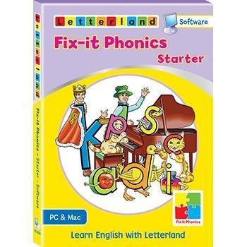 Компьютерная обучающая программа Fix-it Phonics Уровень Starter (3-5 лет) 9781782481607