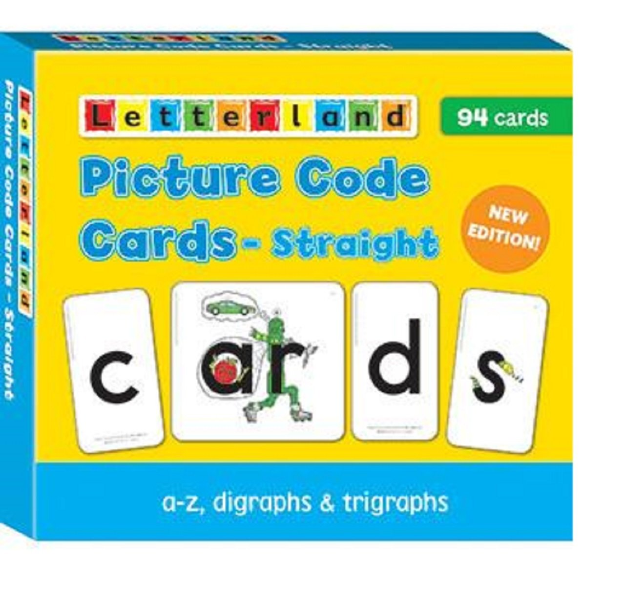 Picture Code Cards - Straight 9781862091993