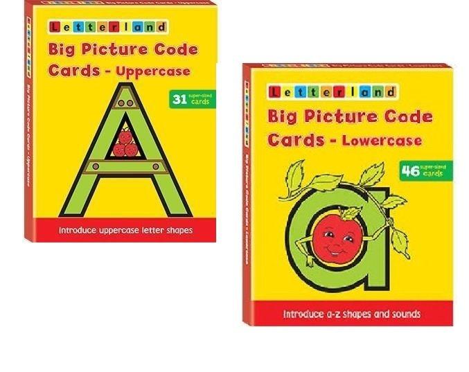 Специальное предложение - Big Picture Code Cards Lowercase & Uppercase 9781862091986, 9781862092242
