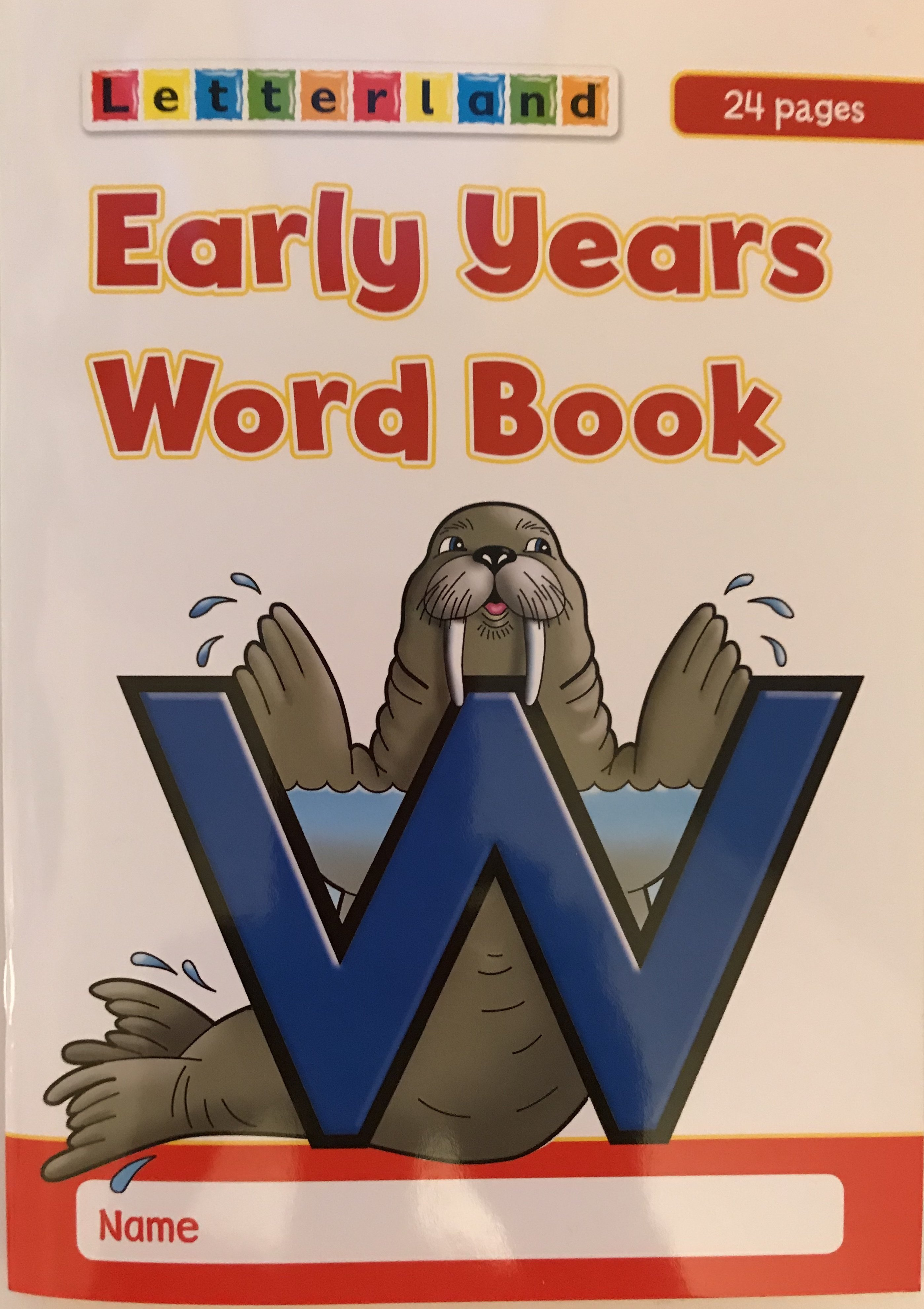 Early Years Word Book 9781862098077