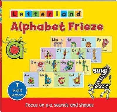 Alphabet Frieze (Настенный алфавит)