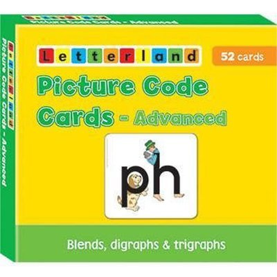 Picture Code Cards - Advanced (Fix-it Phonics Level 2 & 3)