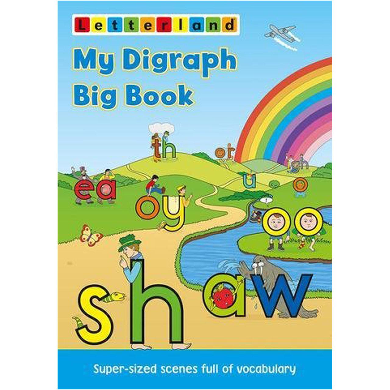 My Digraph Big Book (Big Book for Fix-it Phonics Level 2 & 3)