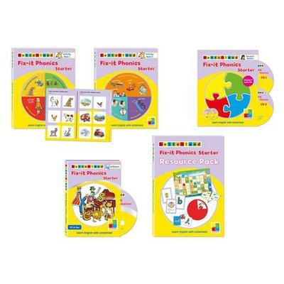 Комплект учителя Teacher's Pack Fix-it Phonics Level Starter