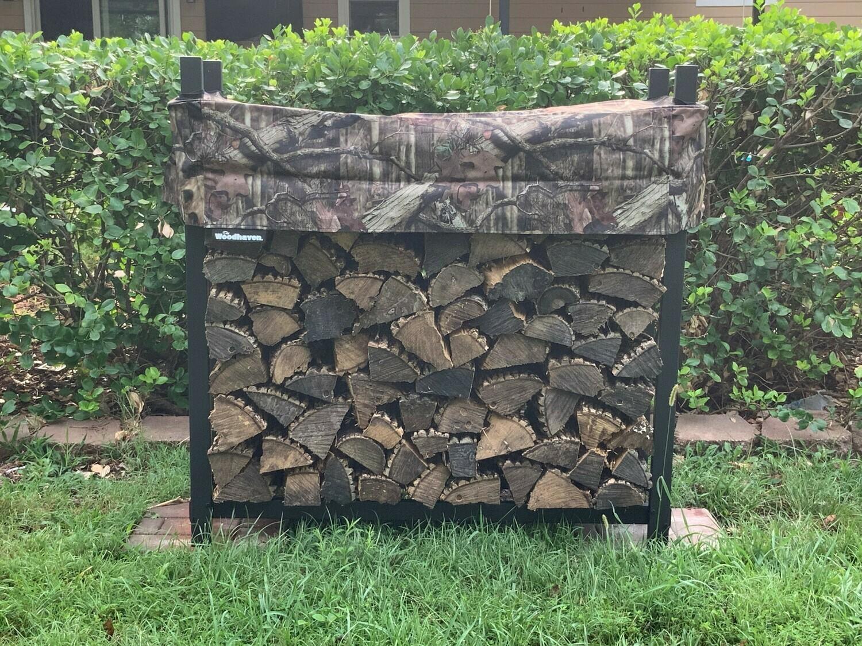 Mossy Oak 1/4 Cord Plus Woodhaven Firewood Rack